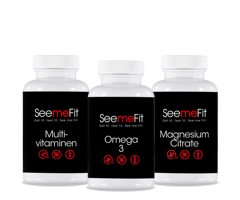 Multivitamine, omega 3 en magnesium